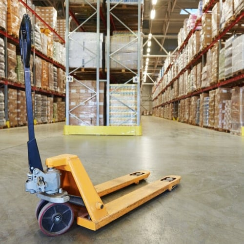 3rd party logistics for warehouse equipment