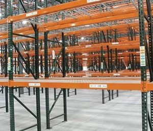 pallet racking load beams