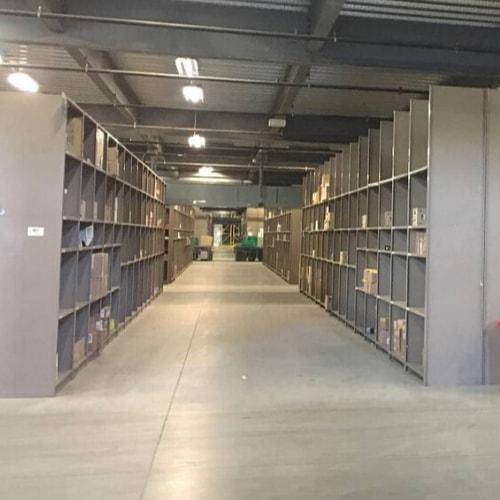 heavy duty bin shelving