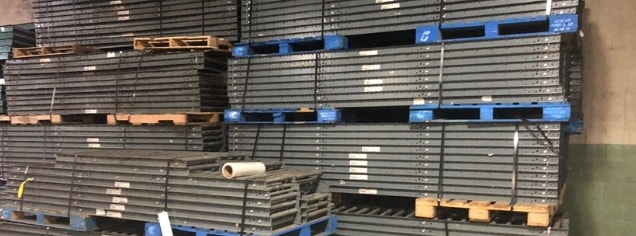 used tear drop pallet racking