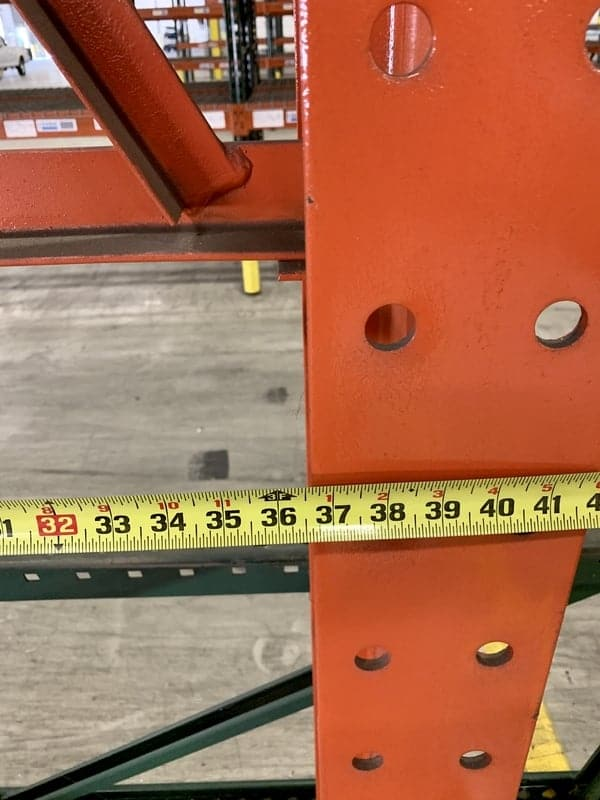 Used Warehouse Equipment Structural Cantilever Rack 1