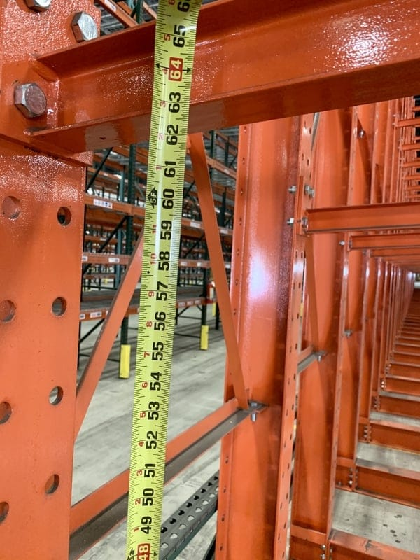 Used Warehouse Equipment Structural Cantilever Rack 2