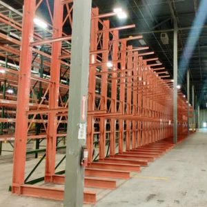 Used Warehouse Equipment – Structural Cantilever Rack